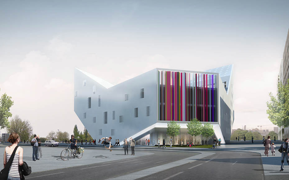 JDS Architecs competition-winning design for the new Lille Youth Center