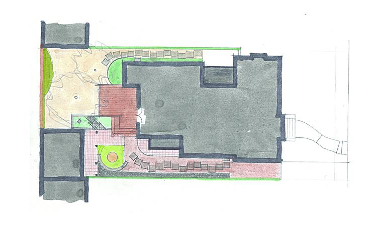 Landscape Plan Option B