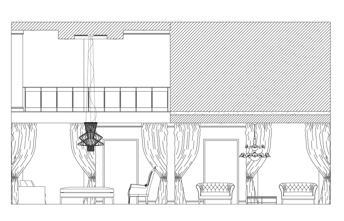 Front Elevation Of Living Room : Residential design sheila arocha archinect