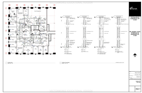 Partition Plan Sheet - This Page Contains the Partition Plan, and Partition Type Details.