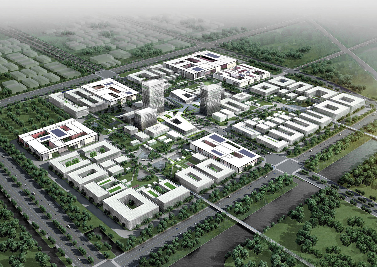 Henn architekten to design suzhou 39 nano polis master plan 39 for Design in the city