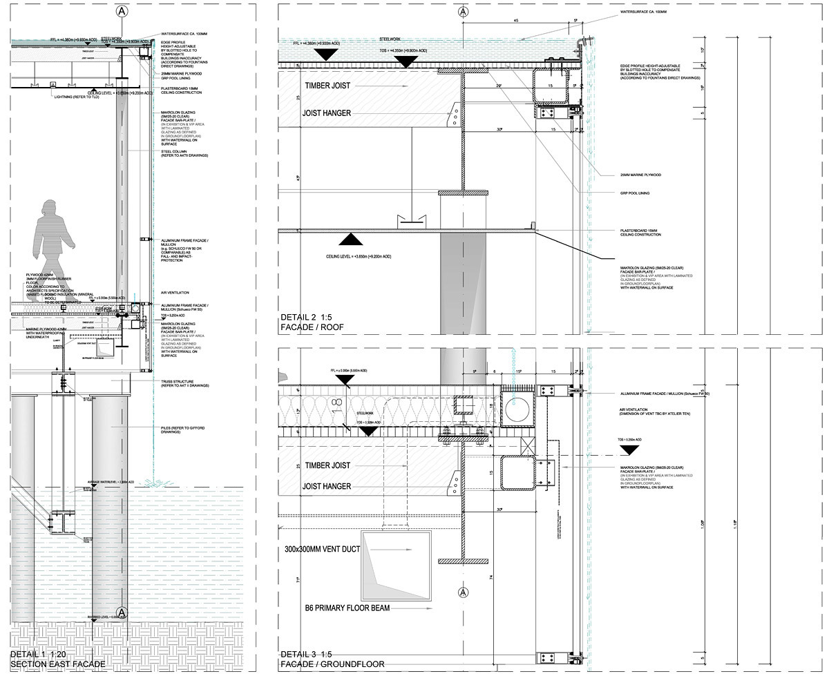 Detailed section (Image: Serie Architects)