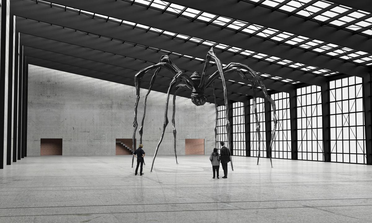 Exhibition Space / Sculpture