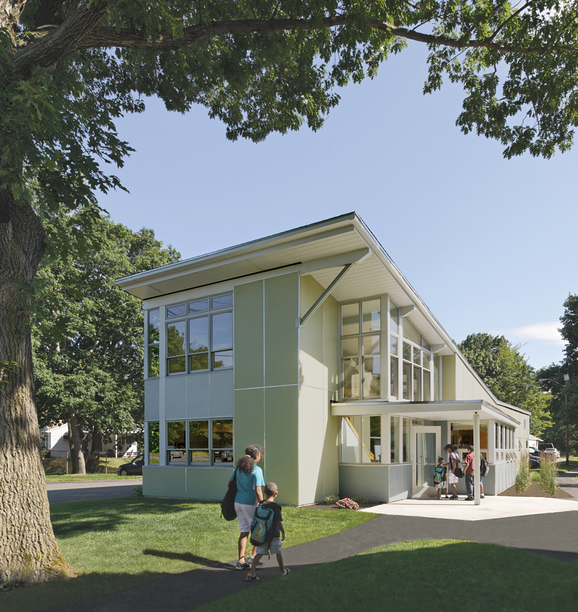 Community Learning Center; Leominster, Massachusetts by Abacus Architects + Planners (Photo: Chuck Choi)