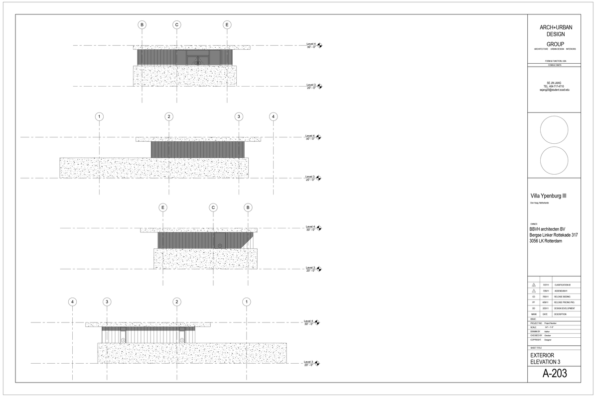 Exterior Elevation 3