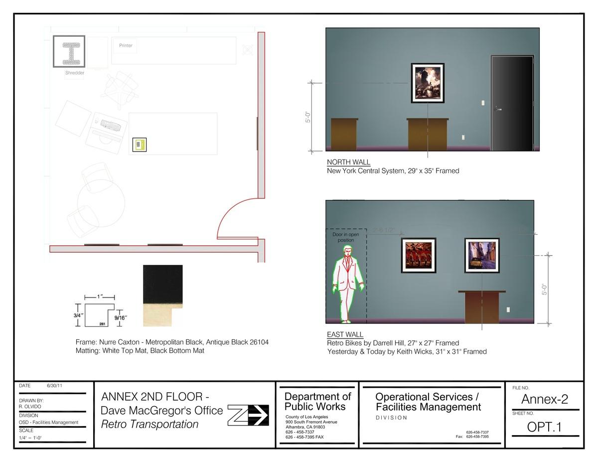 Annex 2nd Floor Office Artwork