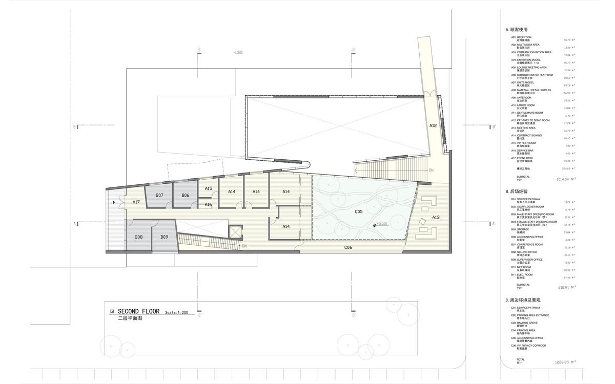 Plan at Level 2 (© Studio Link-Arc)