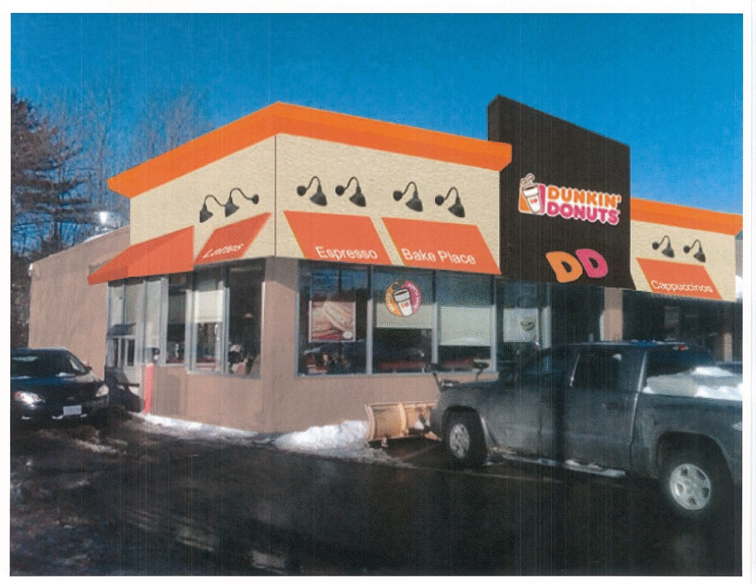RENDERING  DUNKIN DONUTS STORE RENOVATION Sandra Cardenas - Dunkin donuts location map usa