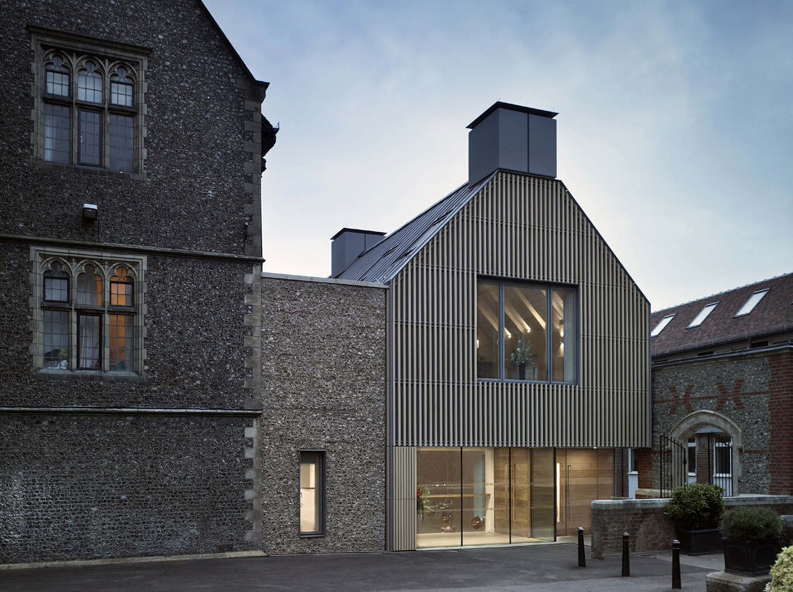 Brighton College - Allies and Morrison Architects © Robin Hayes Photography
