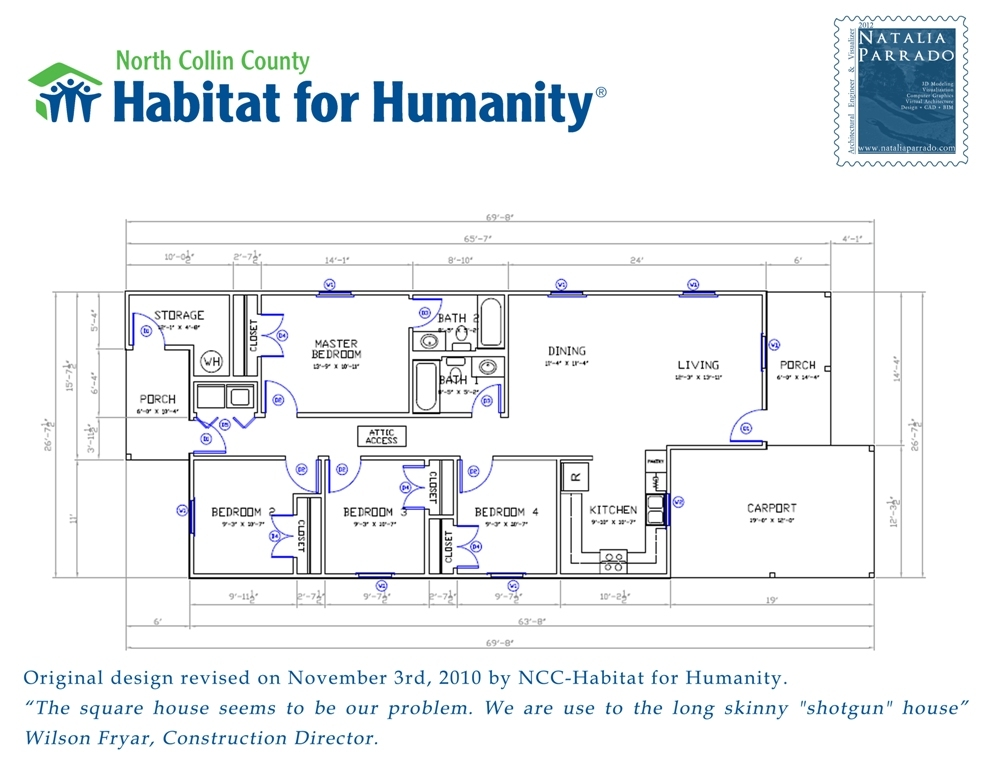 Habitat For Humanity House Plans Habitat For Humanity Home