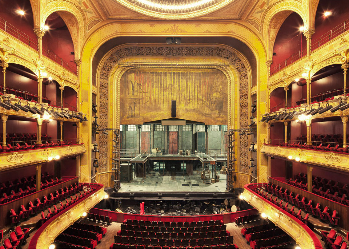 Grand Foyer Theatre Du Chatelet : In focus franck bohbot features archinect