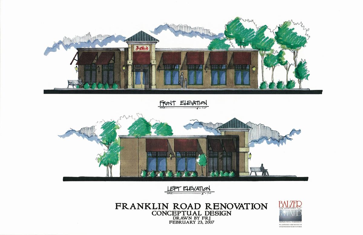 Franklin Road Renovation