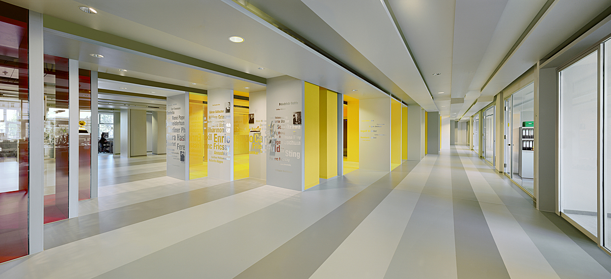 Deutsche Grammophon . Berlin . Interior Design by Pott Architects