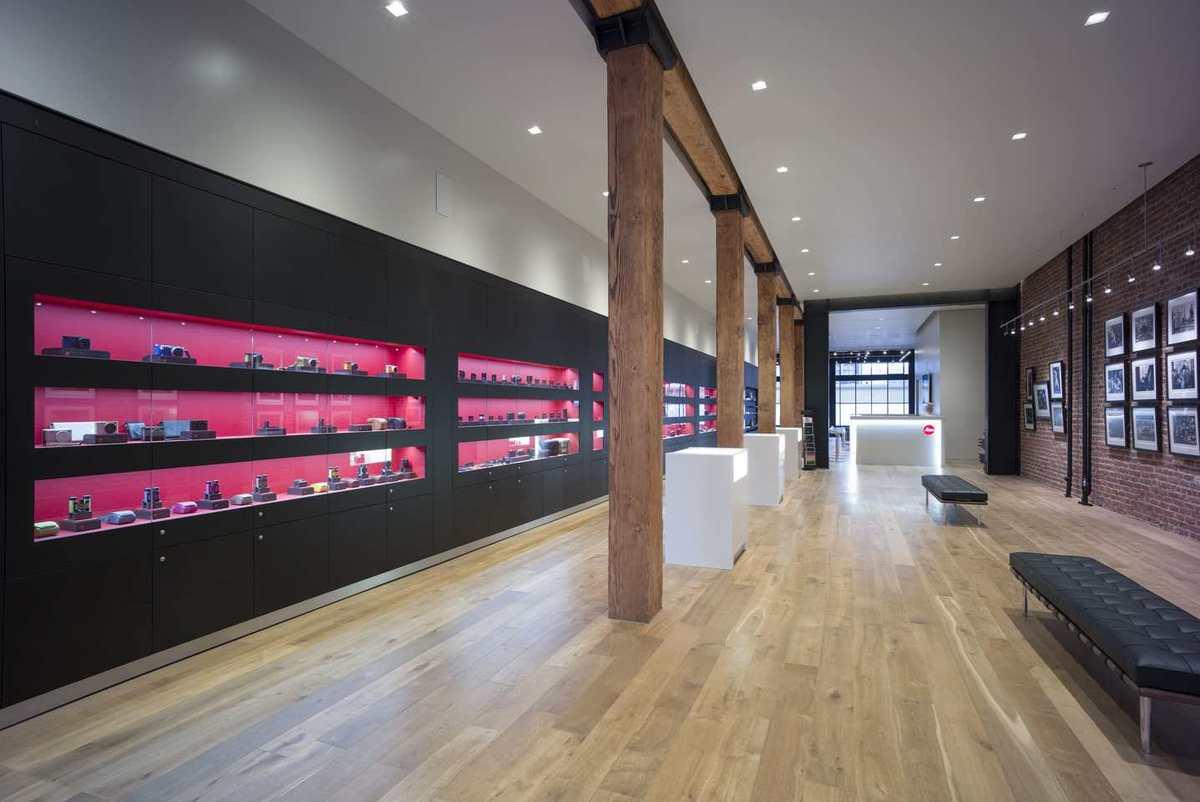 Leica store san francisco wz architecture archinect for San francisco architecture firms