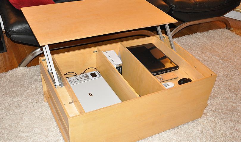 Work desk + storage for everything