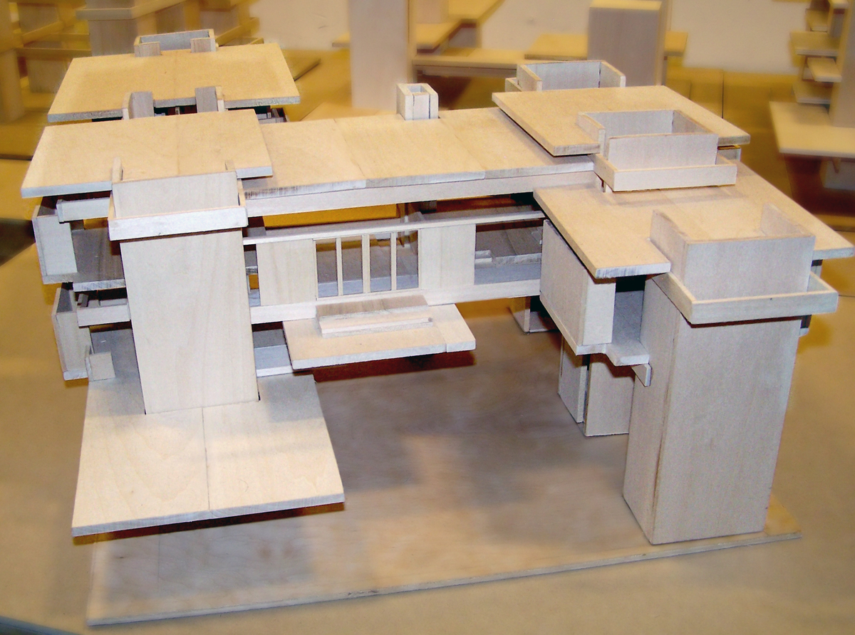 Model house for project