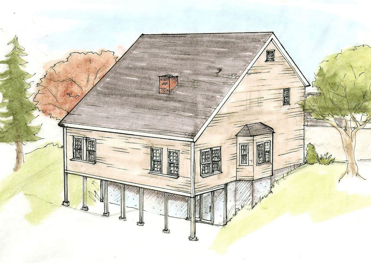 Perspective of Home Addition: Prismacolor
