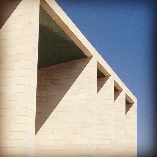 Alvaro Siza Vieiras Portugal pavilion. Image courtesy 5468796 Architecture.