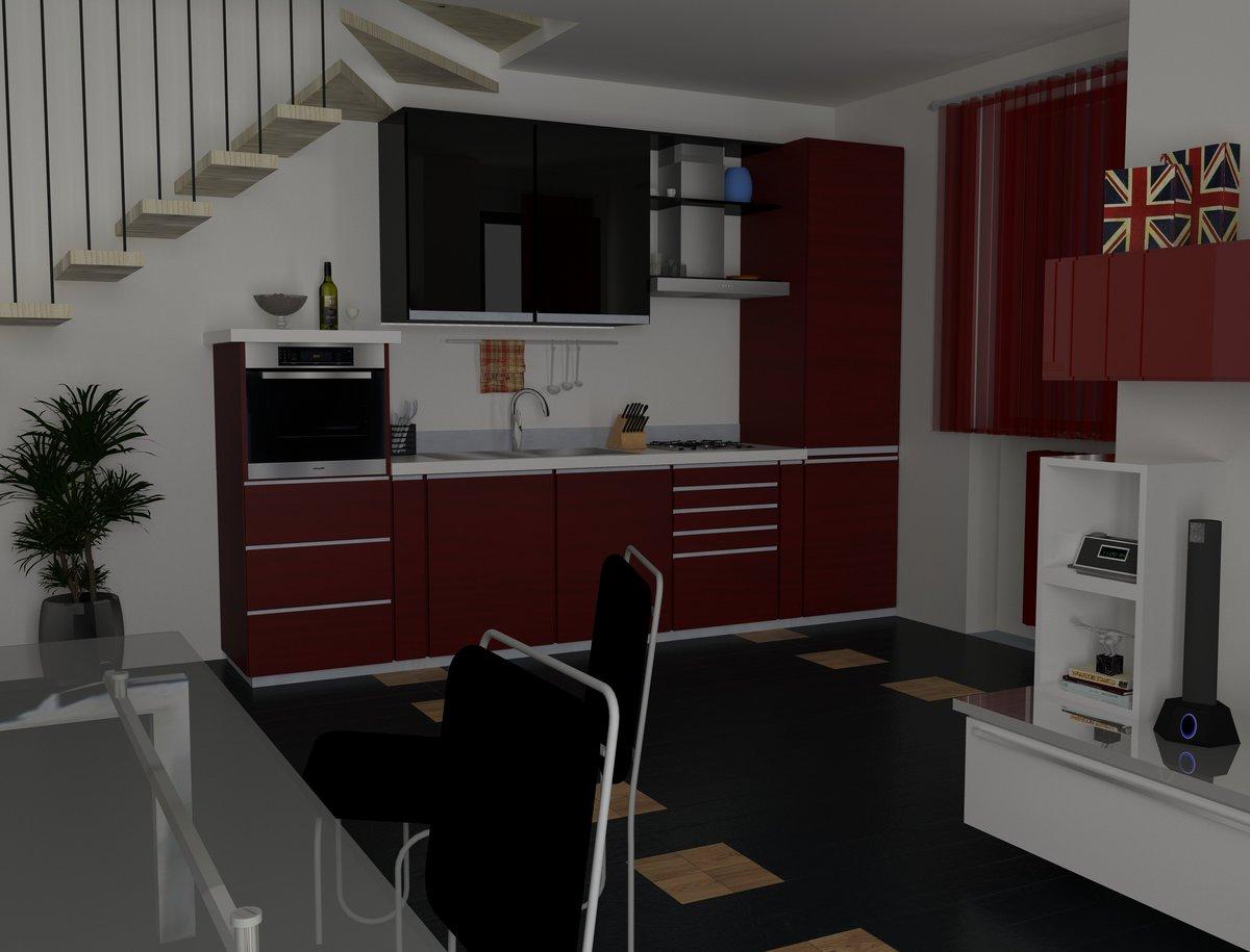 Interior design and render for tempocasa estate agency for Interior design temp agency