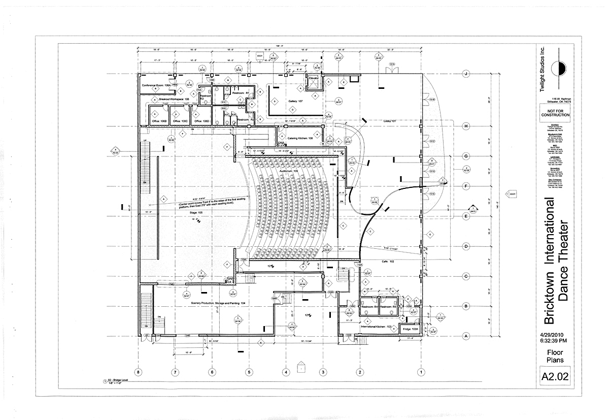 Lobby-Level Floorplans
