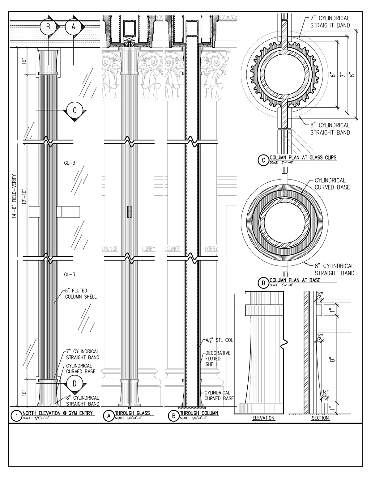 Interior Column Details