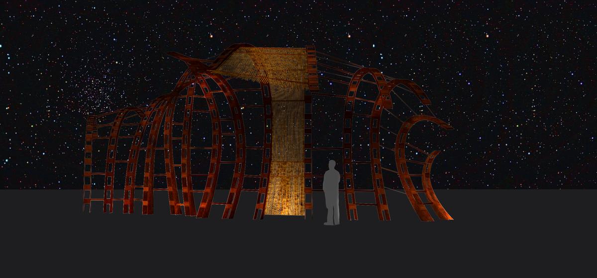 A UAP exterior art screen I rendered.
