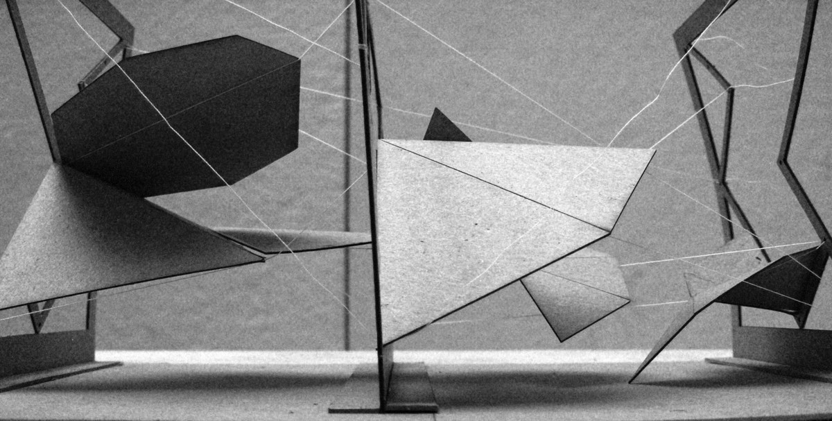 Study Model- Folding Tensegrity- Superstructure