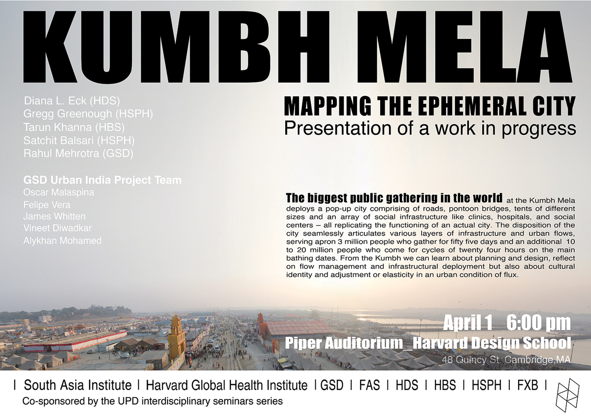 lian harvard gsd m arch i archinect live blog rahul mehrotra kumbh mela mapping the ephemeral city