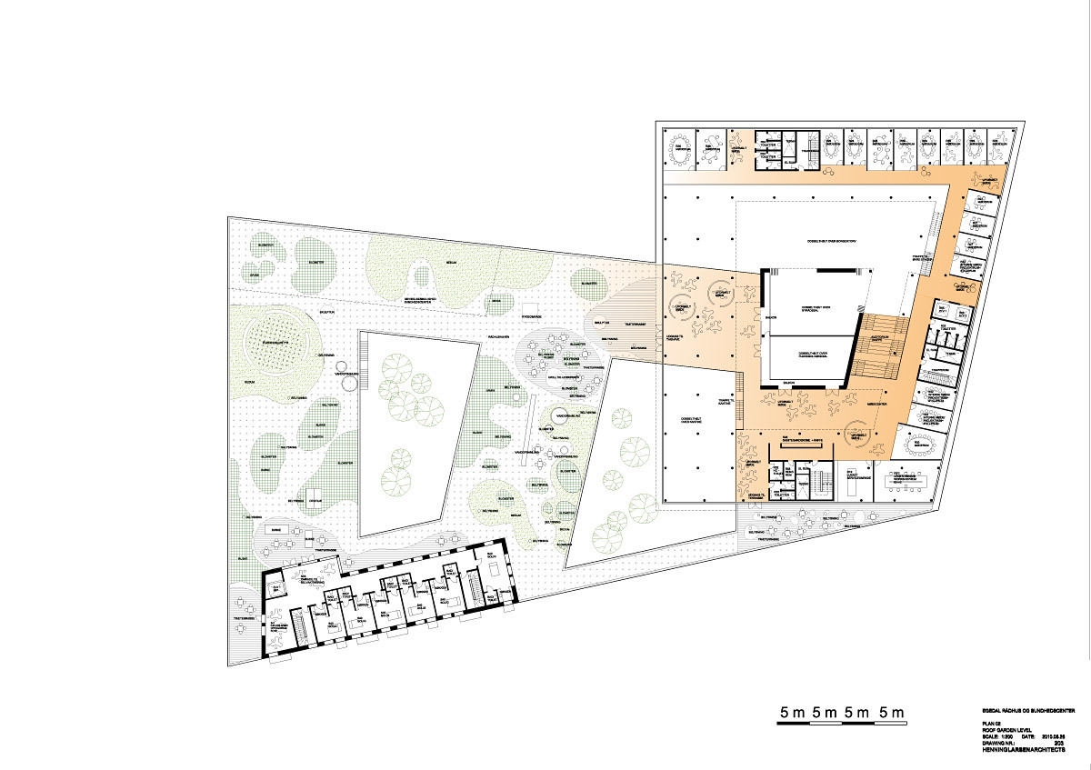 Floor plan, level 02 (Illustration: Henning Larsen Architects)