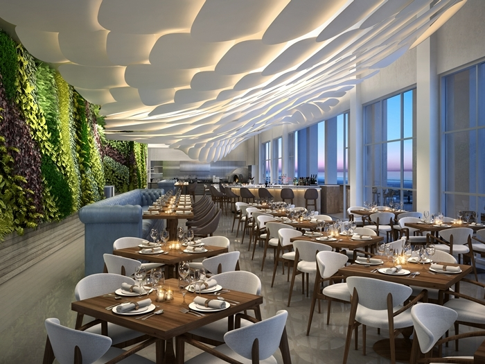 Brezza restaurant conrad fort lauderdale beach resort marc fugnitto archinect for Interior design jobs fort lauderdale