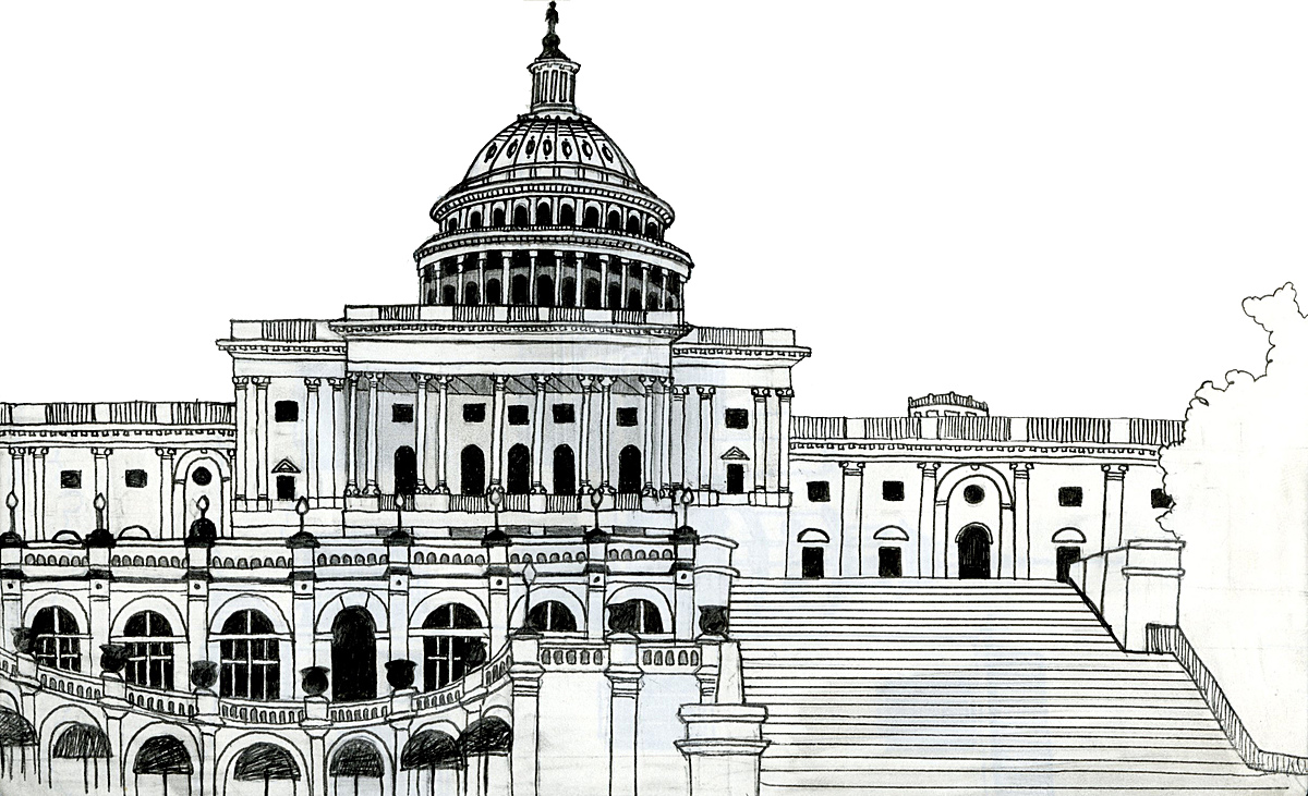 Capitol Building sketch