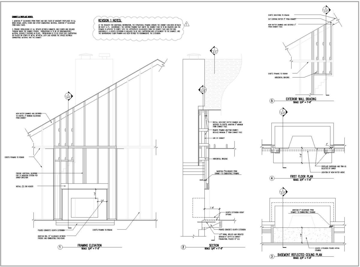 Hunterdon County Residence - Framing Details