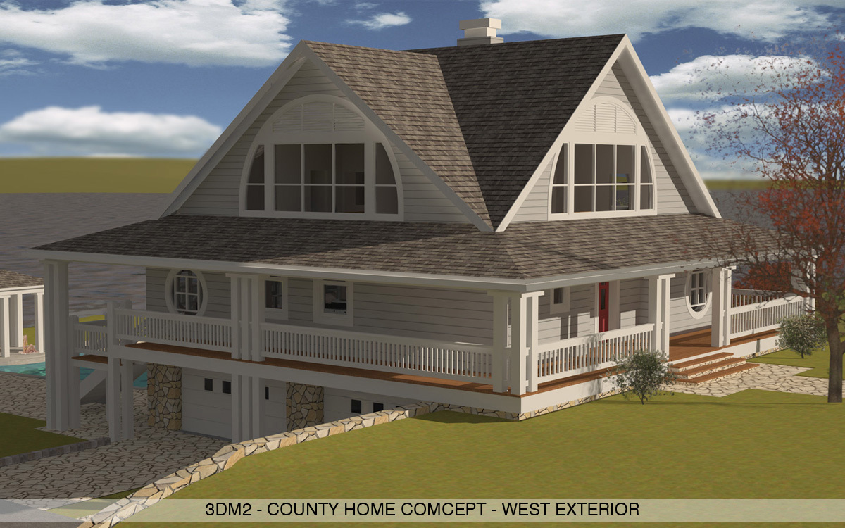 Country House Exterior 02