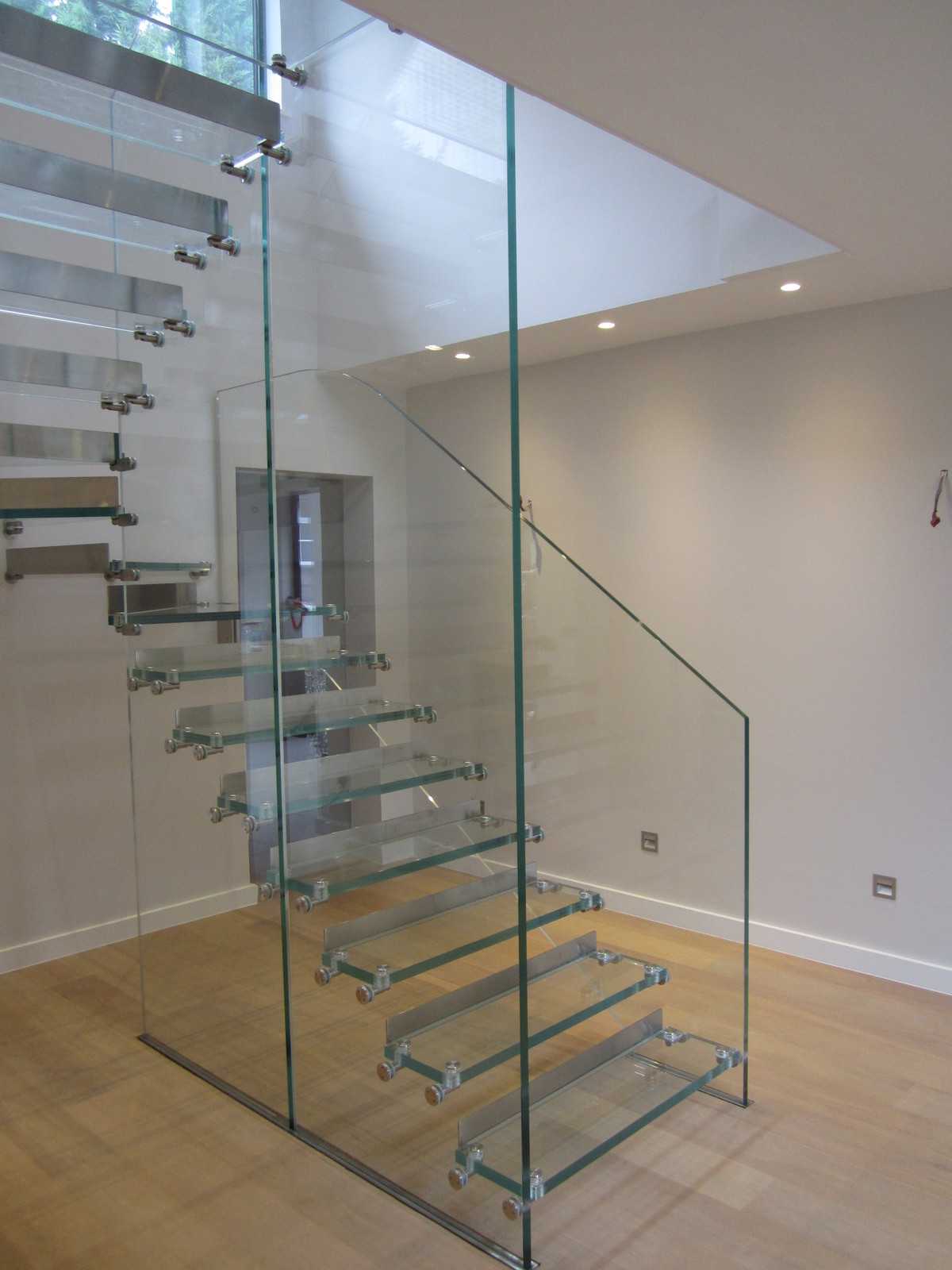 Glass Stairs Glass Facade Glass Floor And Entrance