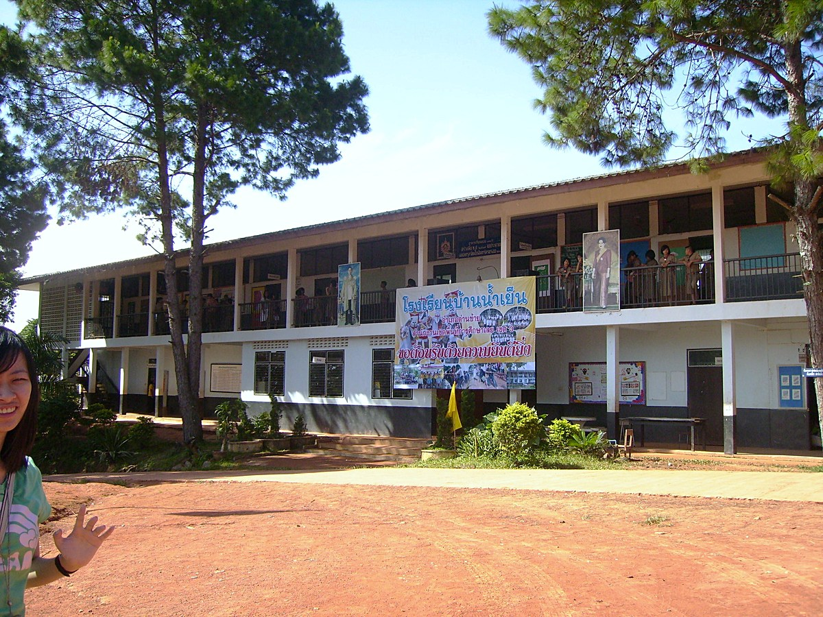 Ban Nam Yen School - Existing Building