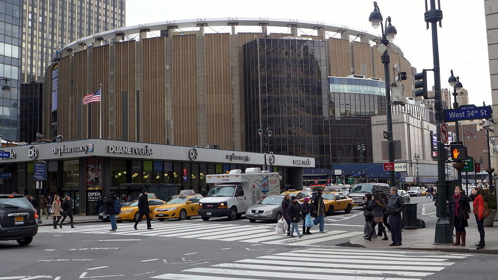 Madison Square Garden as it exists today. Image: Wikipedia