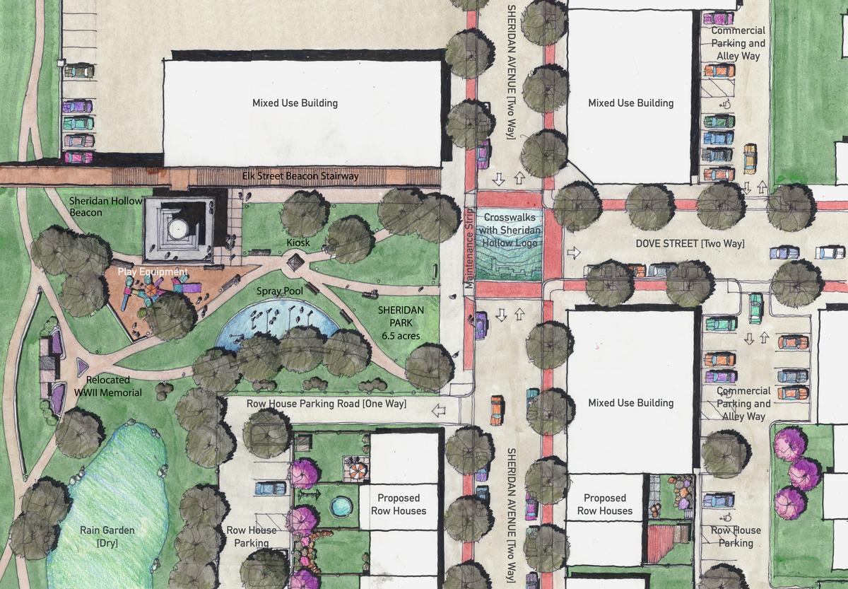 Park Masterplan Detail