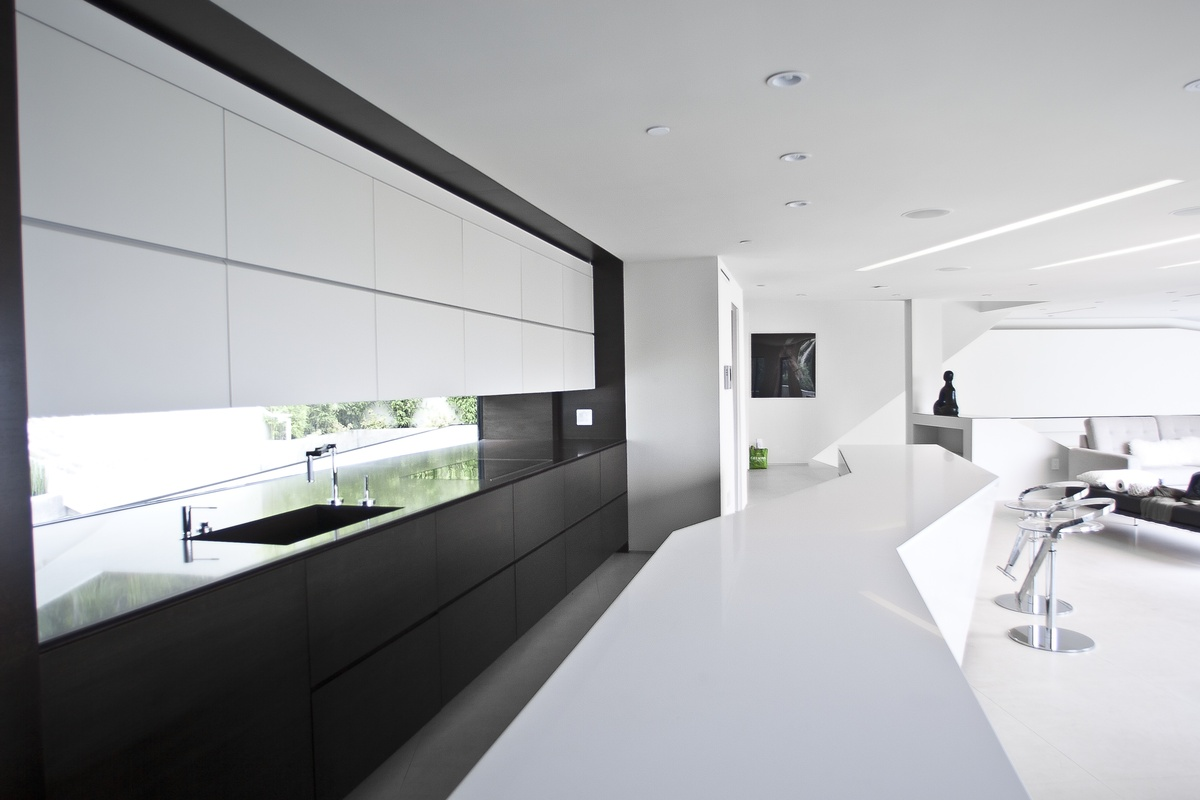 Uncategorized Integrated Kitchen Appliances mu91 arshia architects archinect custom designed kitchen cabintery with integrated appliances photo mahmoodi