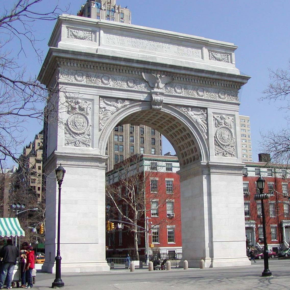 Washington Square Arch Christopher Clay Archinect