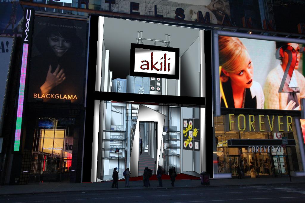 Times Square Facade
