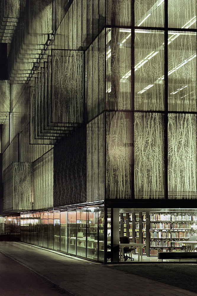 Wiel Arets Architects: University Library UBU, Utrecht, Netherlands, 2004