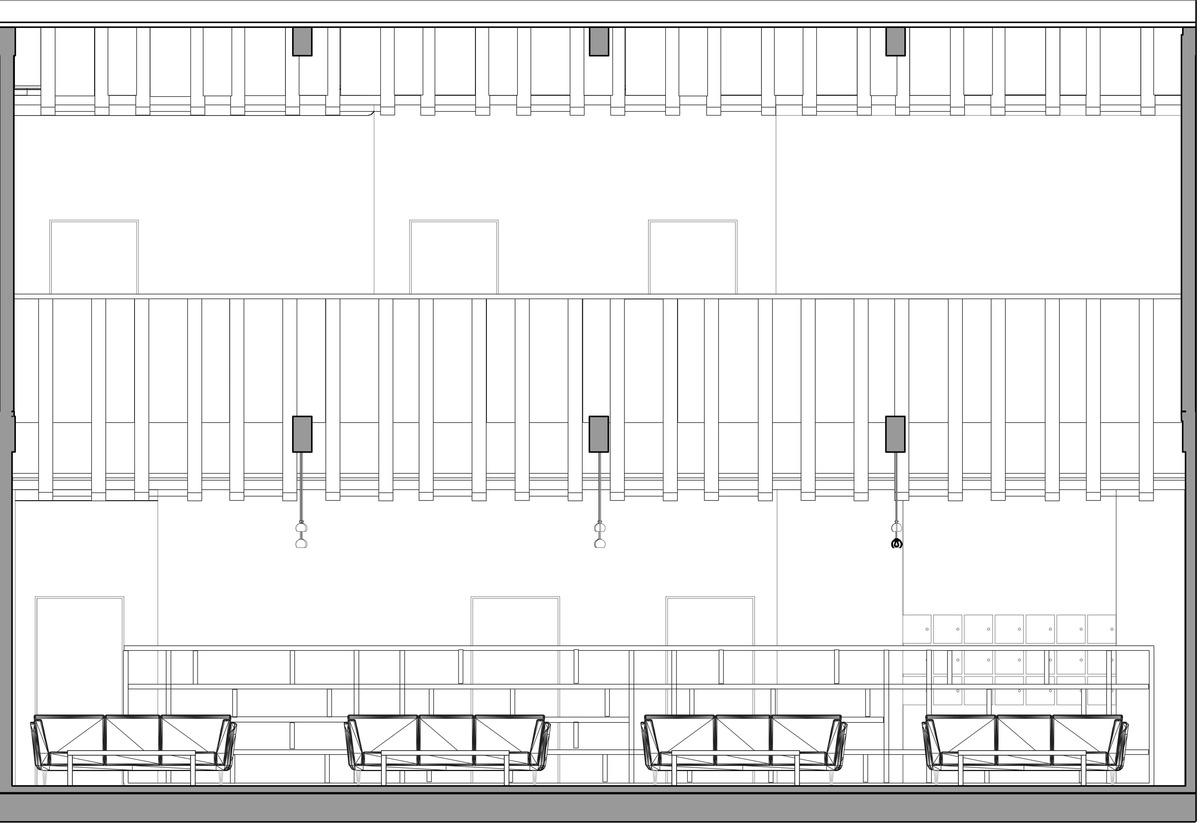 Ceiling/Lounge Elevation