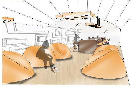 Group Lounge Area