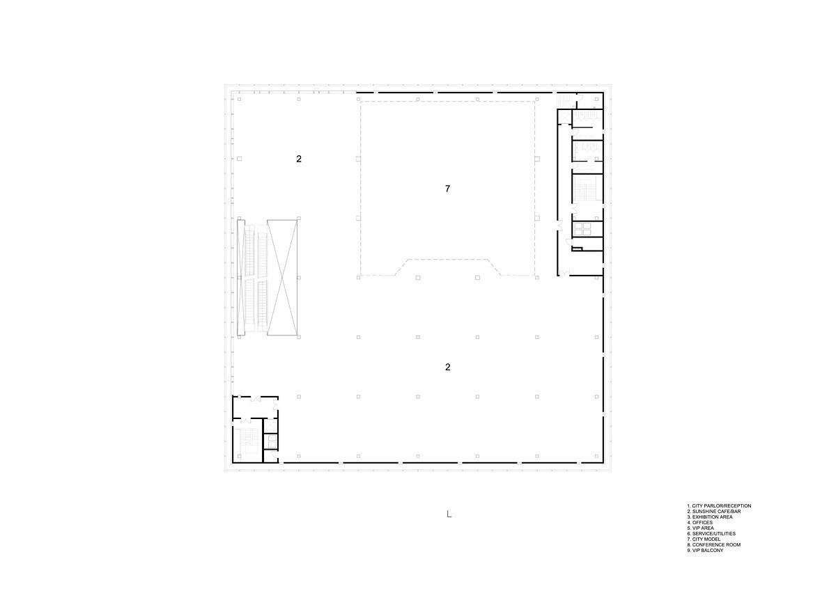 Floor plan, F02 (Image: HENN)