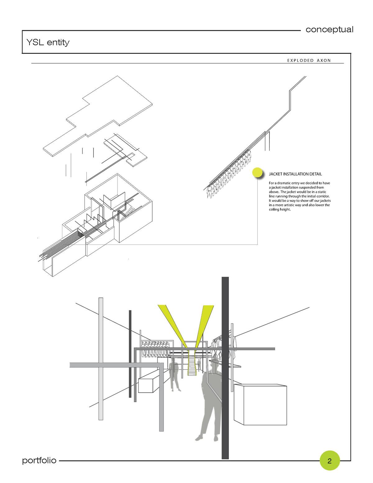 + interior; 3D conceptual views