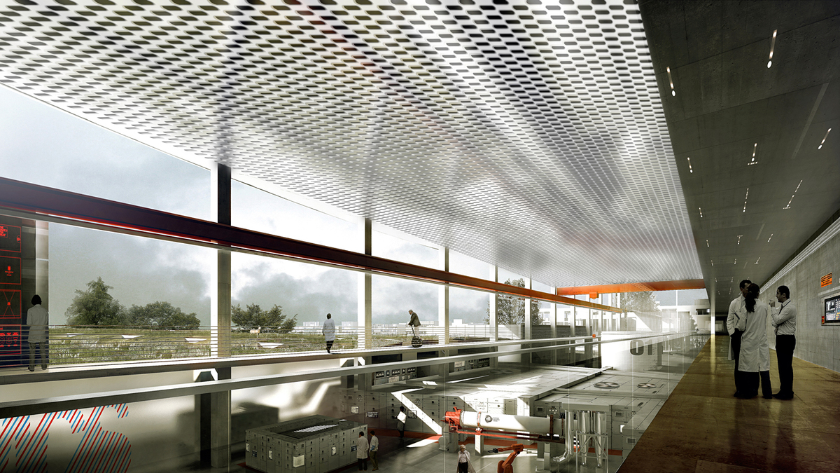 Interiorr rendering (Image: Henning Larsen Architects)