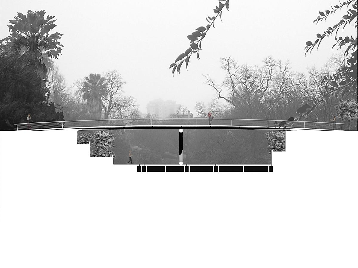 San Antonio River Bridge Section