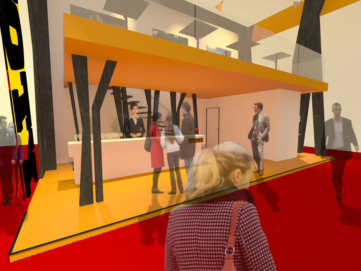 Stand Firm Designs : Ytong stand design haag architects archinect