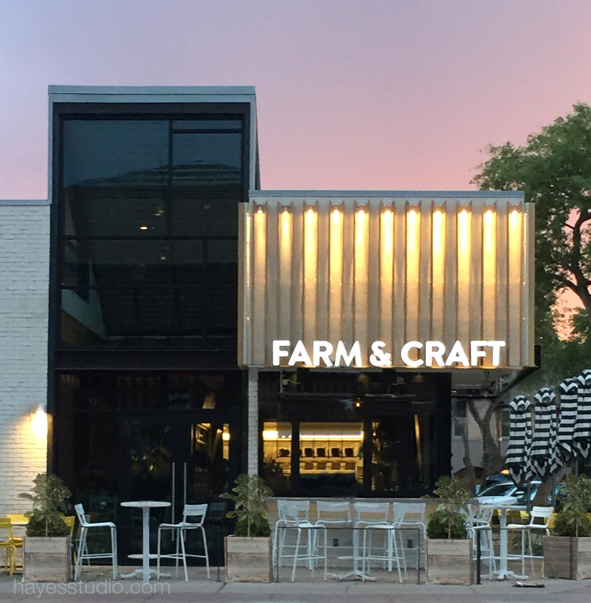 Farm craft scottsdale arizona restaurant architecture