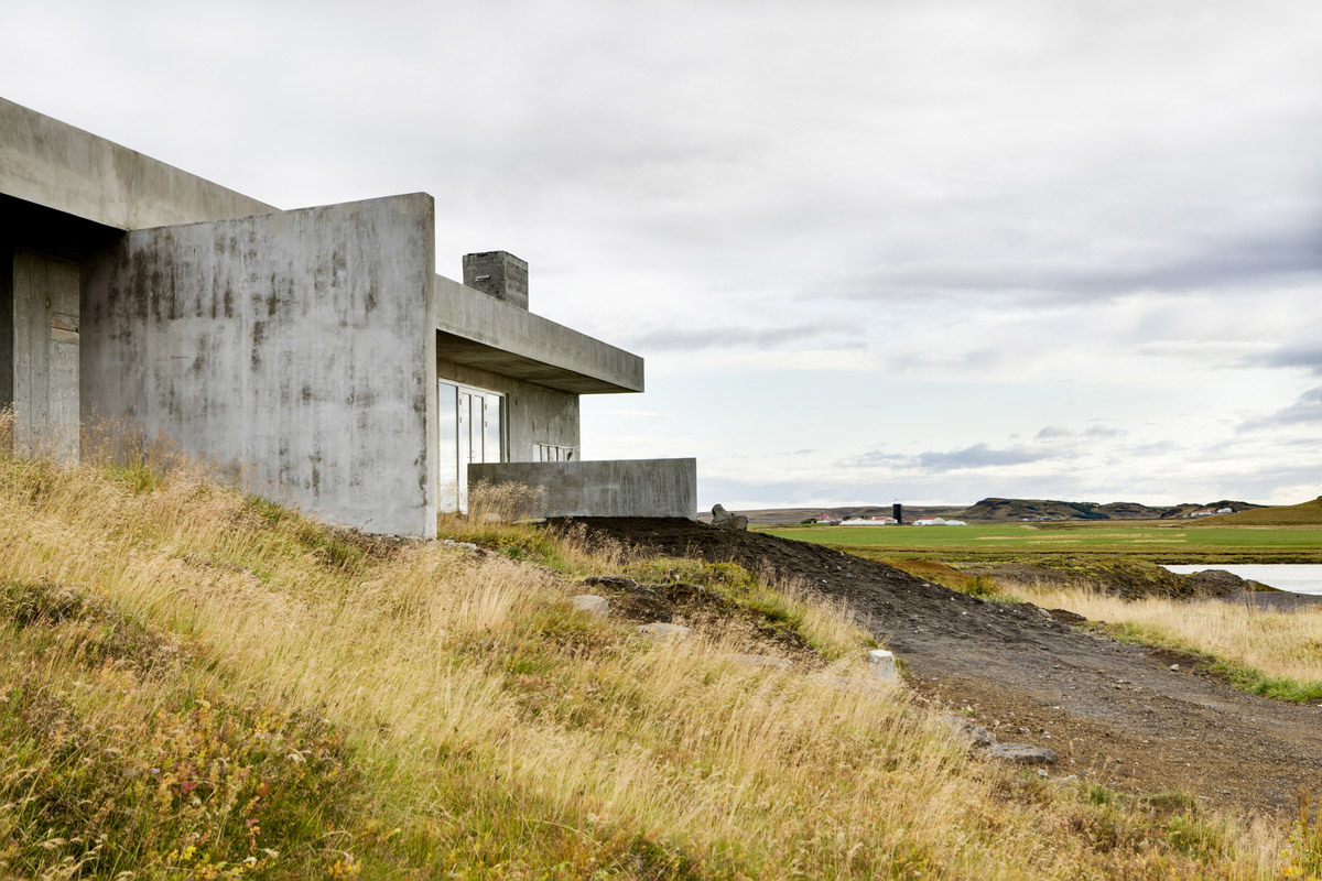 Summer House at Langitangi in Grímsnes, Iceland by KRADS